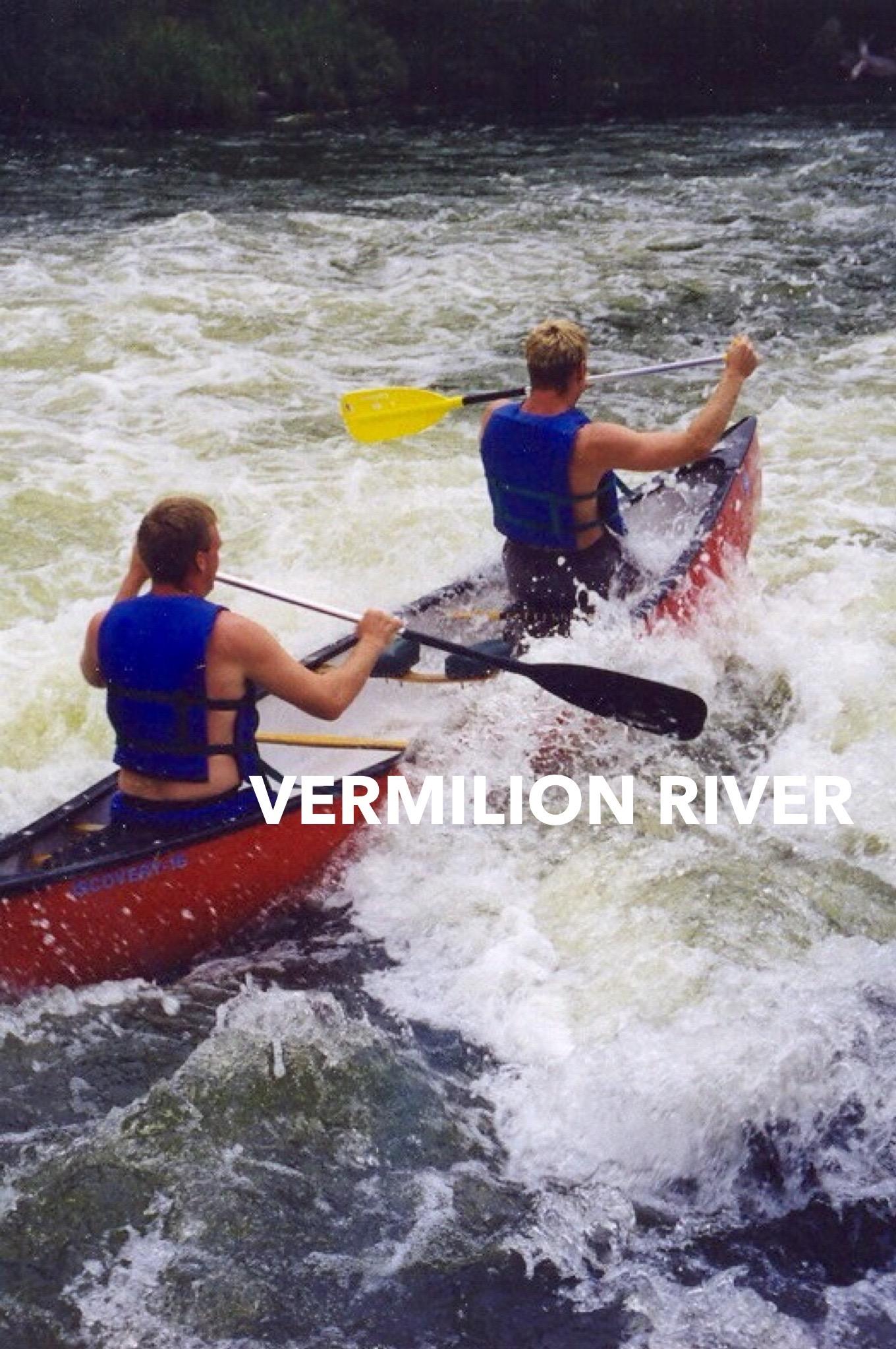 canoe the vermilion river