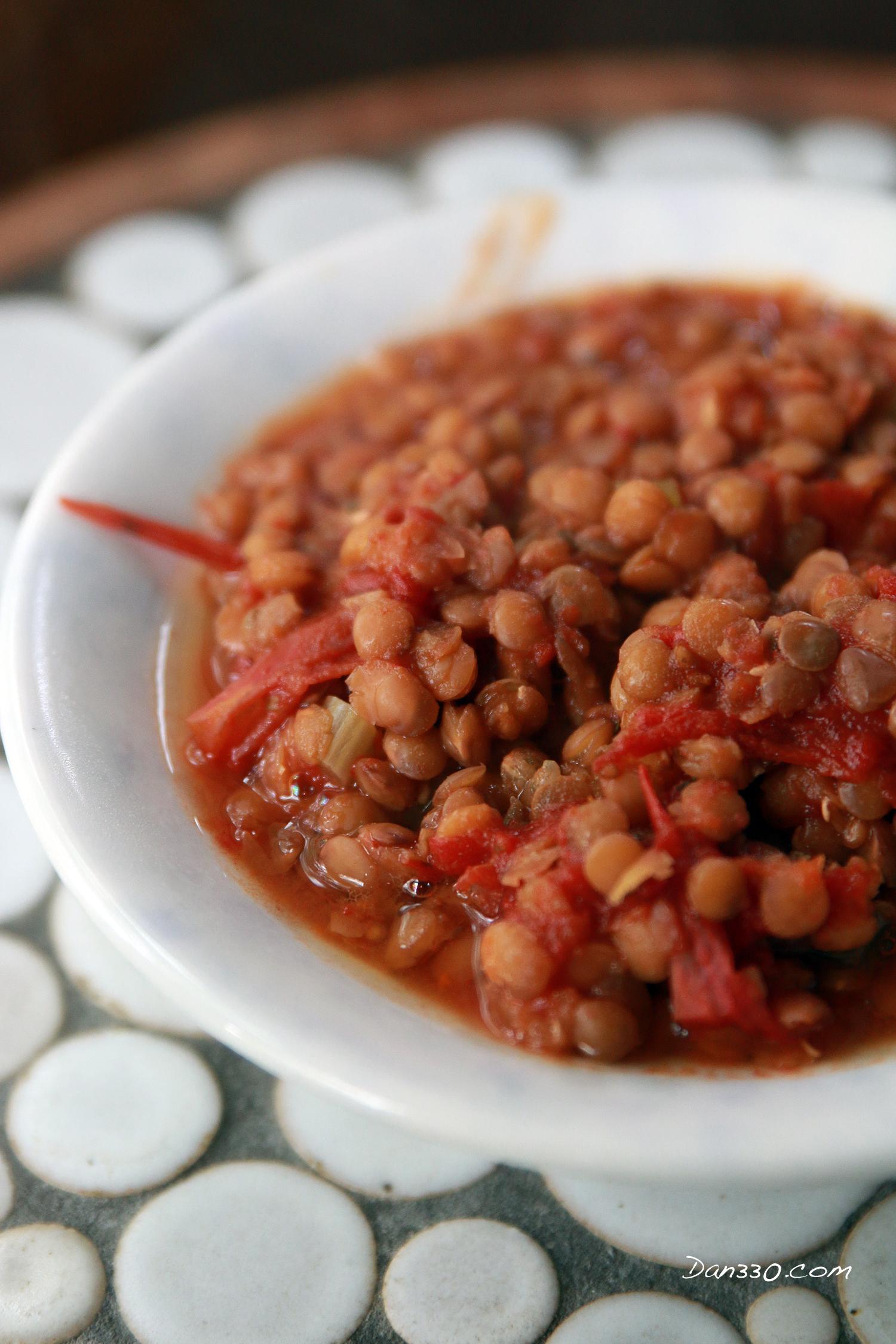 slow cooker lentil recipe