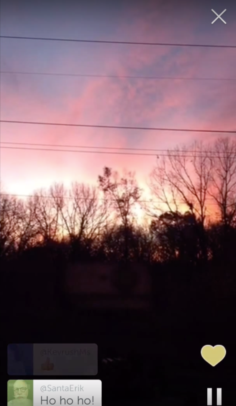 st paul sunrise on periscope