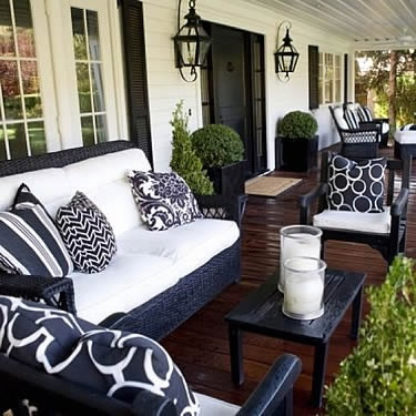 Outdoor Living Blog Outdoorlicious Decorating Front Door, Entryway, or Porch